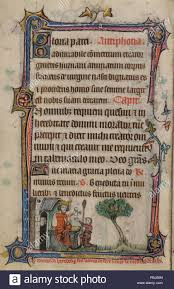 Basdepage Scene Of An Enthroned Herod Giving A Letter To A