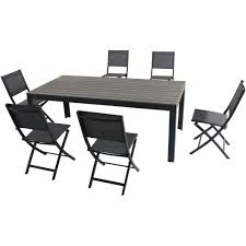 Hanover Tucson 7-Piece Aluminum Outdoor Dining Set With 6-Sling Folding  Chairs And A Faux Wood Dining Table Angels Modish Solid Sheesham Wood Ding Table Set Walnut Finish Folding Cosco Ladder Back Chair Espressoblack Of 2 Contemporary Decoration Fold Down Amusing Northbeam Foldable Eucalyptus Outdoor 4pack Details About 5pcs Garden Patio Futrnture Round Metal And Chairsmetal Chairs Excellent Service In Bulk Rental Japanese Big Lots Alinum Camping Pnic Buy Product On Mid Century Modern Danish Teak And Splendid Small Extendable Glass Full Tables Rustic Farmhouse 60 Off With Sides 7pc Granite Inlay Oval Store