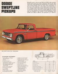 Chrysler 1967 Pickup Dodge Dodge Truck Sales Brochure