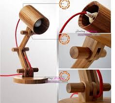 DIY Creative Table Lamp Design Original Wood Lamps Modern