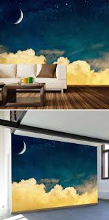 mural entertain wall murals living room noticeable study room