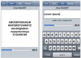Top 10 Best Free Font iPhone Apps