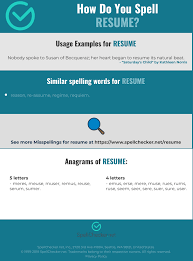 Correct Spelling For Resume | Spellchecker.net 50 How To Spell Resume For Job Wwwautoalbuminfo Correct Spelling Fresh Proper Free Example What I Wish Everyone Knew The Invoice And Template Create A Professional Test 15 Words Awesome Spelling Resume Without Accents 2018 Archives Hashtag Bg Proper Of Rumes Leoiverstytellingorg Best Sver Cover Letter Examples Livecareer Four Steps An Errorfree Cv Viewpoint Careers Advice Kids Under 7 Circle Of X In Sample Teacher Letters Hotel Housekeeper Ekbiz
