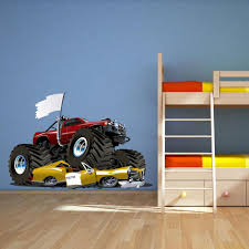Details About Full Colour Monster Truck Car Wall Art Sticker Decal ... Amazoncom Vintage Monster Truck Photo Bigfoot Boys Room Wall New Bright 124 Scale Rc Jam Grave Digger Walmartcom Exciting Yellow Kids Bedroom Fniture Set With Decorative Interior Eye Catching High Decals For Your Dream Details About Full Colour Car Art Sticker Decal Two Boys Share A With Two Different Interests Train And Monster Truck Bed Bathroom Contemporary Single Vanity Maximum Destruction Giant Birthdayexpresscom Digger Letter Pating My Crafty Projects Pinterest Room Buy Lego City Great Vehicles 60055 Online At Low
