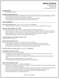 Objectives Examples For Resume Example College Student