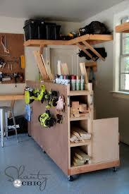 garage organization diy lumber cart shanty 2 chic