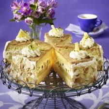 ananas biskuit torte