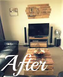 diy rustic living room