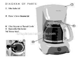 Mr Coffee VB13 Parts List And Diagram EReplacementParts