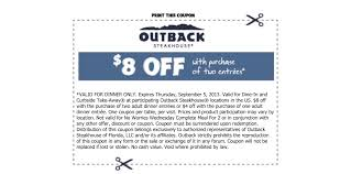 Outback Steakhouse Coupon Code Can I Eat Low Sodium At Outback Steakhouse Hacking Salt Gift Card Eertainment Ding Gifts Food Steakhouse Coupon Bloomin Ion Deals Gone Wild Kitchener C3 Coupons 1020 Off Coupons Free Appetizer Today Parts Com Code August 2018 1for1 Lunch Specials Coupon From Ellicott City Md On Mycustomcoupon Exceptional For You On The 8th Day Of