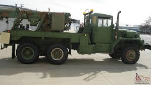 100 Army 5 Ton Truck 1968 US Recovery Equipment M62 Medium Wrecker 6x6