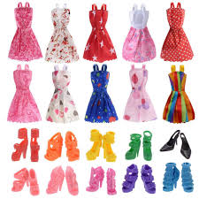 Buy IDream Doll Accessories Multi Color 10 Pieces Online At Low