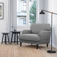 möbel new ikea stocksund armchair cover set in hovsten grey
