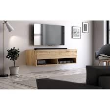tv unterteil tv lowboard epsom in wotan eiche hängend