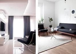 wohnzimmer minimalistisch einrichten doch mit eigenem charakter