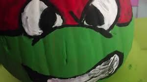 Free Ninja Turtle Pumpkin Carving Patterns by Tmnt Pumpkin Painting Youtube