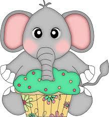 Birthday clipart elephant 12