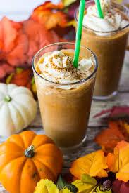 Pumpkin Spice Frappuccino Recipe Starbucks by Pumpkin Spice Frappuccinos The On Bloor