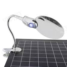 Lighted Magnifier Desk Lamp by Table Clamp For Magnifying Lamp Best Inspiration For Table Lamp
