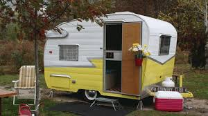 Camping In Style Cool Vintage Trailers