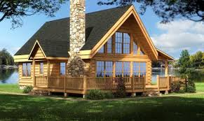 Large Log Cabin Floor Plans Photo by Log Home Plans Cabin Designs From Smoky Mountain Builders Tiny