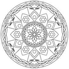 Mandala Coloring Page Sacred Rooms From Geometrycoloringpages