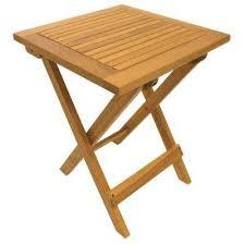 Natural Folding Adirondack Table
