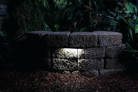 hardscape lighting led lighting deck step and retaining wall