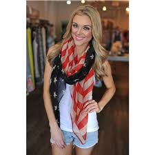 American Flag Scarf Vintage USA Flags Infinity Scarves 4th Of July Women Square Scarfs Shawls Hijab Girls Accessories A0408 In From Womens Clothing