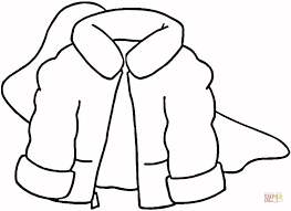 Winter Wedding Dress coloring page