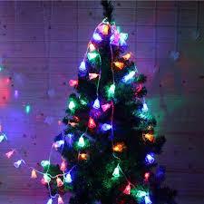2M 20 LEDs Festival Battery Powered Bells String Lights Christmas