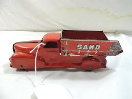 100 Antique Metal Toy Trucks ANTIQUE MARX METAL SAND GRAVEL TOY DUMP TRUCK