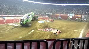 100 Monster Truck Show Portland Grave Digger Freestyle Jam Rose Garden 2012 YouTube