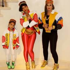 Famous Halloween Characters Names by Beyoncé U0026 Blue Ivy Dress Up As Salt N Pepa For Halloween