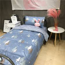 Christmas Tree Bedding Sets Cartoon Students Children Boys Girls Duvet Cover Twin Single Size Bed Sheet Cotton Bedclothes In From Home