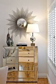 Hayworth Mirrored Chest Silver by 1300