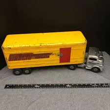 100 Toy Truck And Trailer 1950s Structo Trans Continental Express Semi Vintage