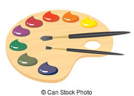 Free Clipart Painters Pallet