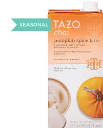 Decaf Pumpkin Spice Latte K Cups by Chai Pumpkin Spice Latte Concentrate Tazo Tea