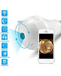 deal alert hd 1080p led bulb 360皸panoramic wifi