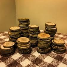 100 3 Wood Slices