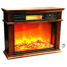 Portable Fireplace Faux Stone Portable Fireplace Traditional