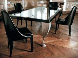 Houzz Dining Tables Kitchen Table Wonderful Black Wood Glass Unique Design Room Gallery Of