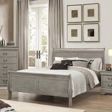crown mark louis phillipe queen sleigh bed wayside furniture