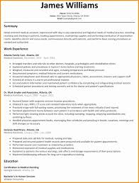 Best Resume Samples For Administrative Assistant Unique Ma Examples Sample Medical With