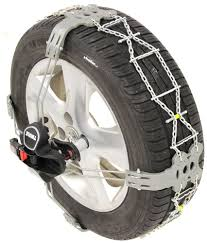 Thule Premium Self-Tensioning Snow Tire Chains - Diamond Pattern - D ...