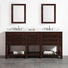 35 Most Cool Inch Bathroom Vanity With Decoration Wall Shelf Also
