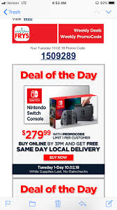 Frys Electronics Nintendo Switch $279.99 With Coupon Code ...