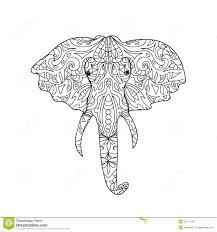 Royalty Free Illustration Download Elephant Head