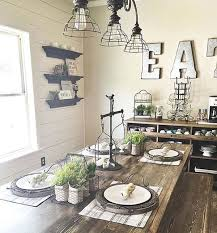 25 Calmness Dining Room With Farmhouse Style And Vintage Materials Home Design Interior